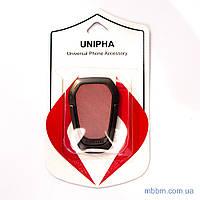 Держатель для телефона (попсокет, posocket) Unipha IronMan розовый