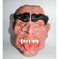 Маскарадная маска жуткая монстра с языком латексная