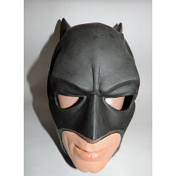 Маскарадная маска супергероя Бэтмена латексная