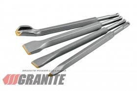 GRANITE  Набор стамесок SDS-PLUS 4 шт 14*250 мм с победитовой напайкой GRANITE, Арт.: 1-41-250