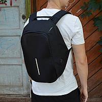 Рюкзак анти-вор с внешним выходом USB и рефлективными вставками