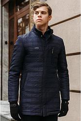 Зимнее мужское стеганное п/пальто«Galaxy»