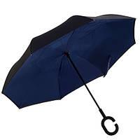 Зонт обратного сложения Up-Brella темно-синий R187144