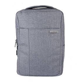 "Рюкзак для ноутбука M-Сase 15.6"" Grey (14062)"