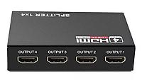 HDMI сплиттер активный 1080 2K 3D 4 порта 1 вход->на 4 экрана Splitter (