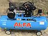 Компрессор воздушный ременной Al-Fa ALC150-2 3800 Вт 740 л/мин