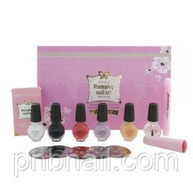 Набор для дизайна ногтей KONAD Premium French Set