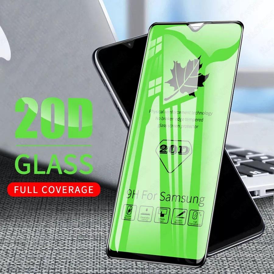 Защитное стекло 20D полная проклейка Samsung A7/A750 2018 9H захисне скло