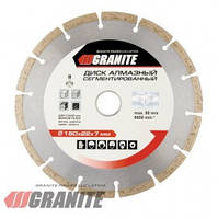 GRANITE  Диск алмазный SEGMENTED 180 мм  GRANITE, Арт.: 9-00-180