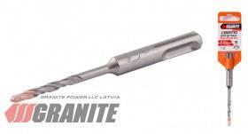 GRANITE  Сверло для бетона SDS-PLUS S4 18* 460 мм GRANITE, Арт.: 0-18-460