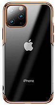 Baseus Shining чехол для iPhone 11 Gold (ARAPIPH58S-MD0V)