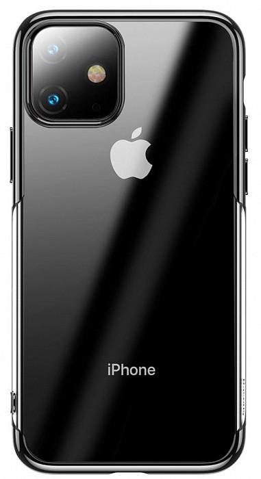 Baseus Shining чехол для iPhone 11 Pro MAX Black (ARAPIPH65S-MD0S)