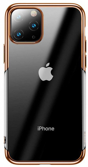 Baseus Shining чехол для iPhone 11 Pro MAX Gold (ARAPIPH65S-MD0V)