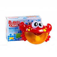 Музыкальный краб - игрушка для ванной, пускает пузыри. - 48 шт/ящ 25*16,5*8 см.