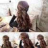 Заколка для волос Губки (цвет золото или серебро)