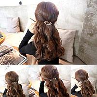 Заколка для волос Губки (цвет золото или серебро), фото 1