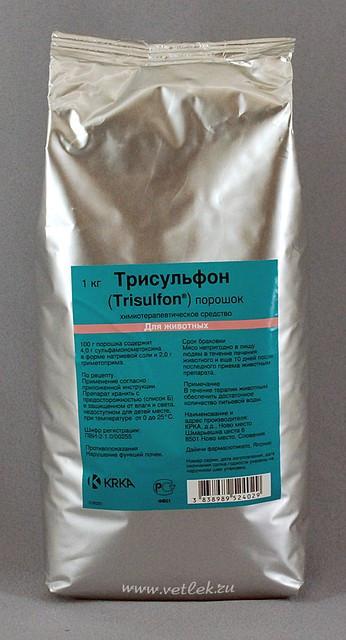 Трисульфон порошок (оральний) 10 г KRKA