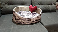 Лежаки для собак и кошек 60х50 см.Лежанка,Лежаки,лежак,лежак для кошки,лежак для собаки,лежанка, фото 2