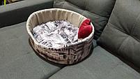 Лежаки для собак и кошек 60х50 см.Лежанка,Лежаки,лежак,лежак для кошки,лежак для собаки,лежанка, фото 4
