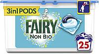 Капсулы для стирки универсал Fairy Non Bio 25 капс.