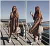Плаття в горошок з завищеною талією 20130