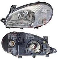 Фара передняя для Daewoo Lanos '98- левая (DEPO) под электрокорректор