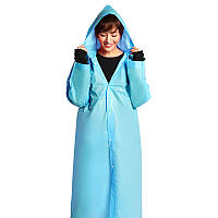 Дождевик женский ЕВА, голубой, оригинал