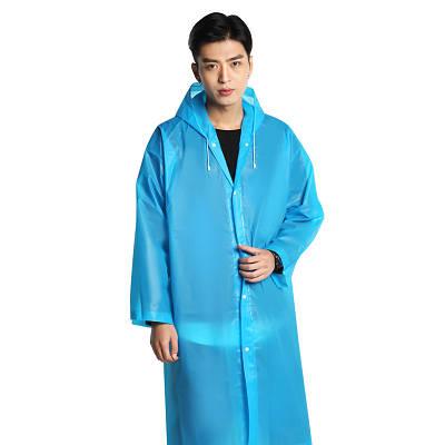 Дождевик мужской ЕВА, голубой, оригинал