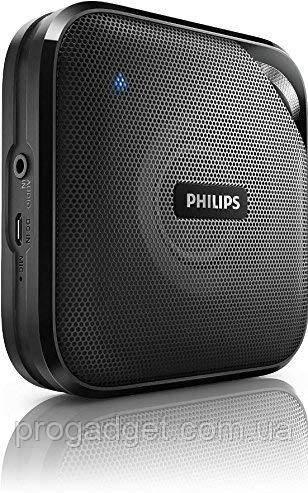 Philips BT2500B/37 Black компактная беспроводная колонка Bluetooth 4.0 моно