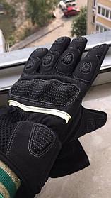 длинные мото перчатки с защитой Racing Tribe Madbike Probike