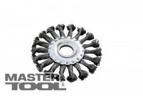 MasterTool  Щетка дисковая из плетеной проволоки D180*22,2 мм, Арт.: 19-9018