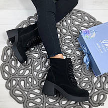 Ботинки женские с цепочкой, фото 3