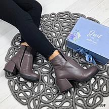 Модные коричневые ботинки, фото 3