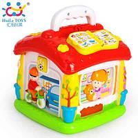 Детская игрушка Huile Toys обучающий домик