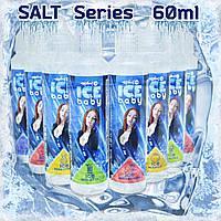 Солевая Премиум Жидкость ICE BABY 60 мл Salt, фото 1