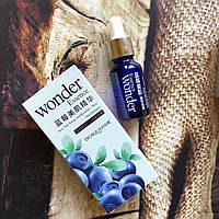 Сыворотка для лица с черникой Bioaqua Wonder Essence