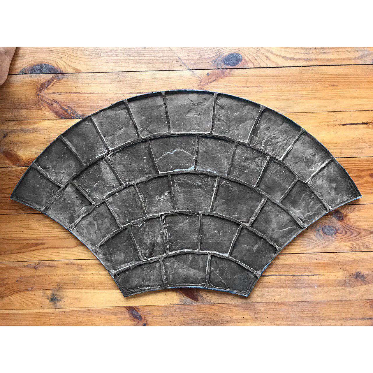 """Резиновый штамп """"Веер большой"""" форма для печатного бетона, фото 1"""