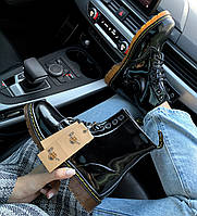 Высокие ботинки Dr. Martens High Lacquered Black