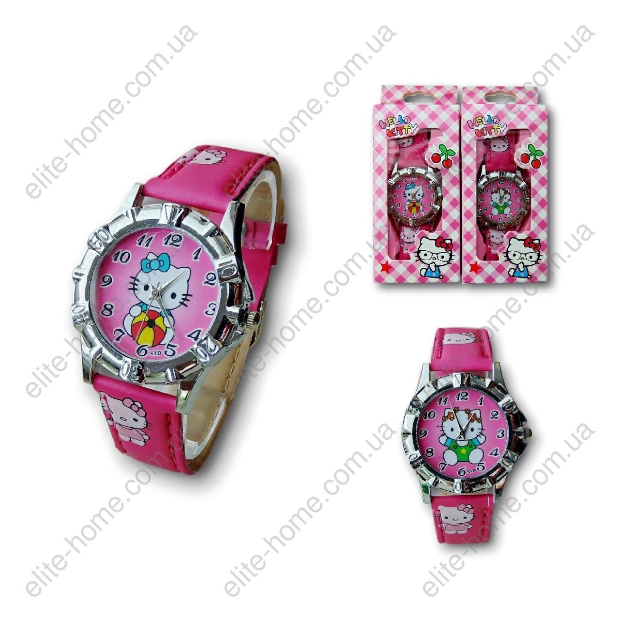 """Дитячі наручні годинники """"Hello Kitty"""" в подарунковій упаковці"""