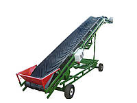 Ленточный конвейер передвижной, транспортер передвижной ленточный, фото 1