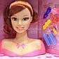 Лялька для зачісок «fashion girl» (голова ляльки), 20 см (323-1), фото 2