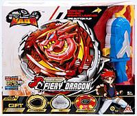 Волчок Auldey Infinity Nado V серия Advanced Fiery Dragon Огненный Дракон