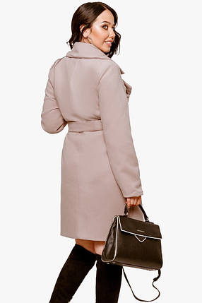 Женское пальто из кашемира больших размеров, фото 2