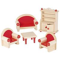 Набор для кукол goki Мебель для гостинной 51952G