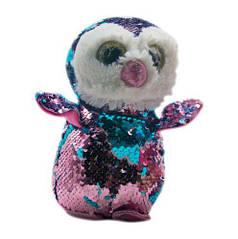 """Мягкая игрушка с пайетками """"Пингвин"""" (розово-синий) PL1904"""