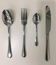 Набор столовых приборов 4 предмета серебро