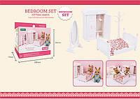 Белая спальня с кроватью (аналог Sylvanian Families), для ЛОЛ, фото 1