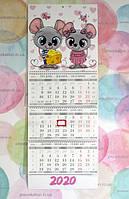 квартальный календарь мышка