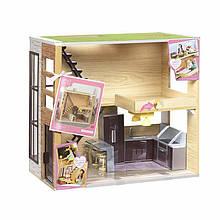 Игровой набор LORI Деревянный дом LO37004Z