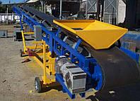 Конвейеры ленточные, транспортер ленточный, передвижной ленточный конвейер